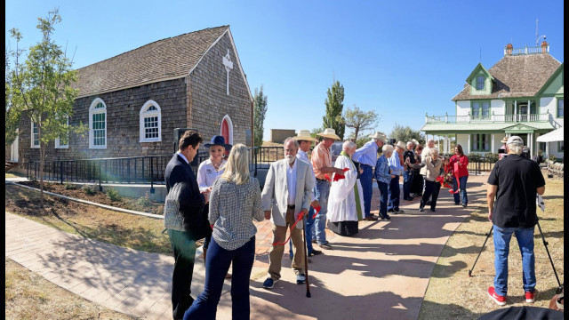 Ranching Heritage Center flings open doors of restored Spur Trinity Mission church